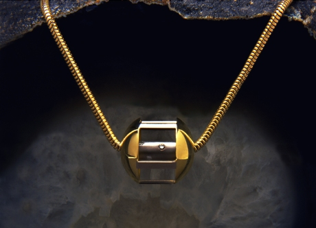 Platinum & Gold Piece set with Diamonds by Steven Bourke, 1999
