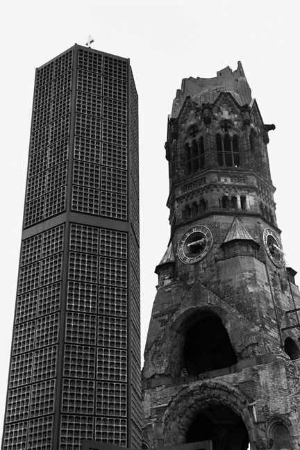 Kaiser Wilhelm Church, Berlin, Germany, November 2006