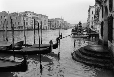 Grand Canal, Venice, Italy, November 2005