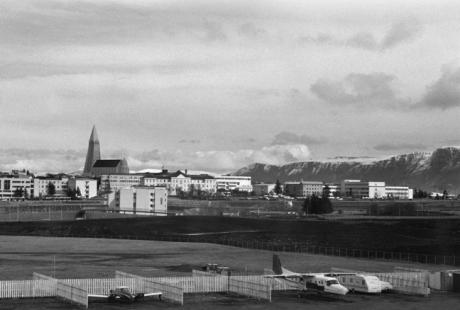 Reykjavik Airport, Reykjavik, Iceland, April 2006
