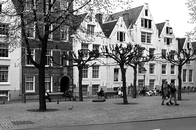 Amstelveld Square, Amsterdam, Netherlands, April 1999