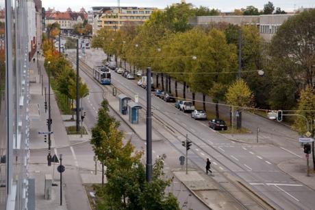 Schwanthalerstraße, Munich, Germany, October 2009