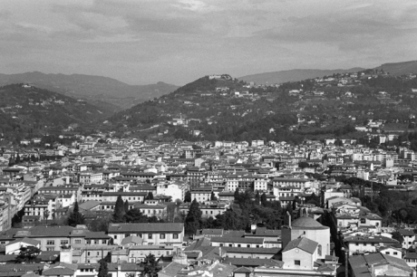 Florence from the Duomo, Florence, Italy, February 2007