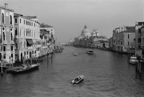 Canale Grande from Ponte dell'Accademia, Venice, Italy, November 2005
