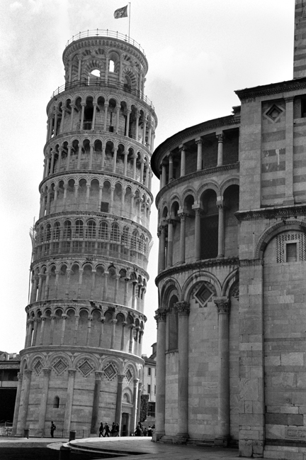 Leaning Tower of Pisa, Italy, February 2007