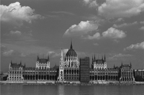 Parliament Building, Budapest, Hungary, June 2001