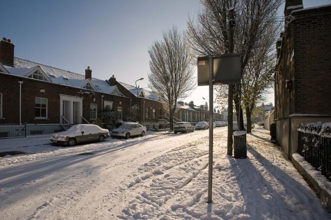 Synge Street, Dublin, Ireland, November 2010