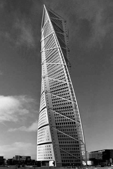 Turning Torso Building, Malmo, Sweden, November 2007