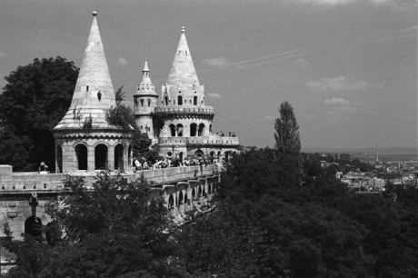 Fishermen's Bastion, Budapest, Hungary, June 2001