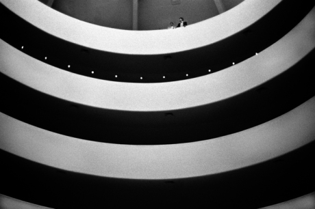 Guggenheim, Fifth Avenue, Manhattan, New York, America, April 1995