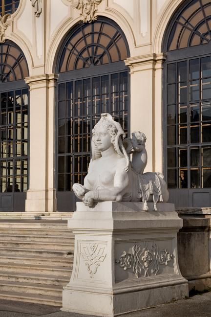 Upper Belvedere, Vienna, Austria, December 2008
