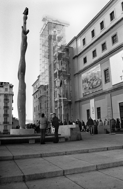 Centro de Arte Reina Sofia, Madrid, Spain, January 2005
