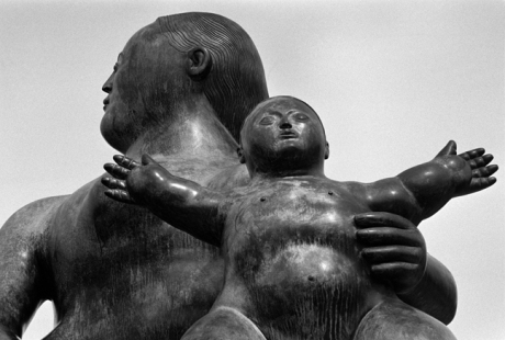 Botero Statue, Lisbon, Portugal, April 2006