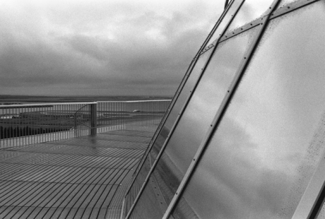 Perlan Viewing Deck, Reykjavik, Iceland, April 2006