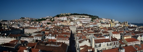 Lisbon Panorama, Lisbon, Portugal, April 2006