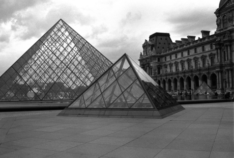 The Louvre, Paris, France, August 2004