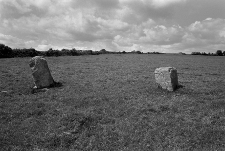 Standing Stone, Megalith, Stone Pair