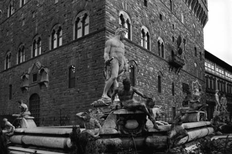 Piazza della Signoria, Florence, Italy, February 2007