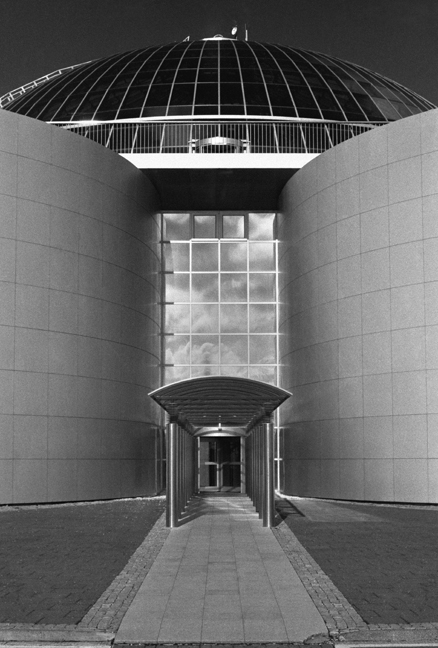 Perlan Entrance, Reykjavik, Iceland, April 2006