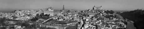 Toledo Panoramic, Toledo, Spain, January 2005