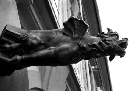 Sculpture, Prague, Czech Republic, April 2000