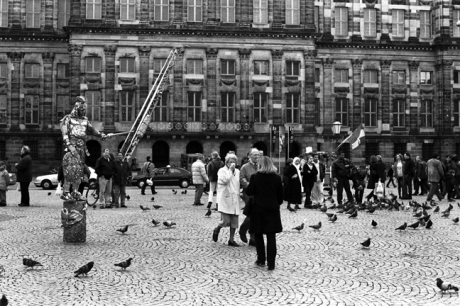 Dam Square, Amsterdam, Netherlands, April 1999