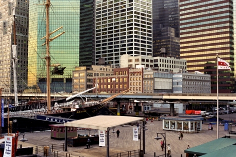 South Street Seaport, Manhattan, New York, America, November 1997