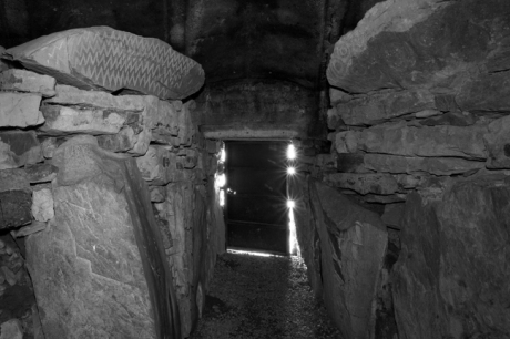 Fourknocks Passage Tomb, Meath, Ireland, April 2013