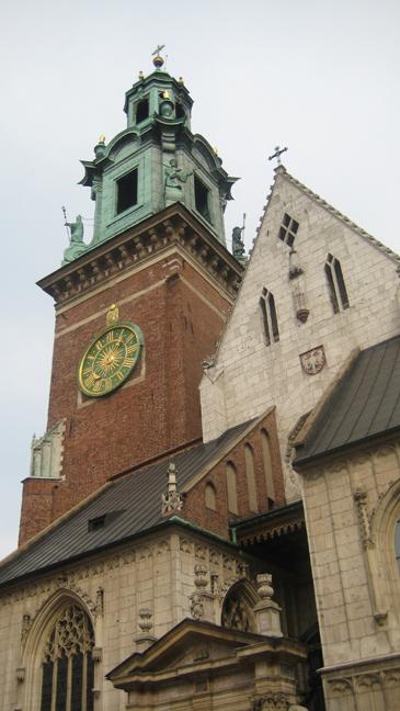 Krakow Cathedral, Krakow, Poland, March 2008