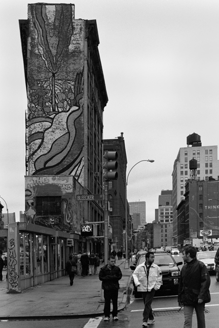 Bleecker St., Manhattan, New York, America, November 1997