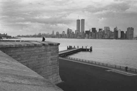 Liberty Island, New York, America, November 1997