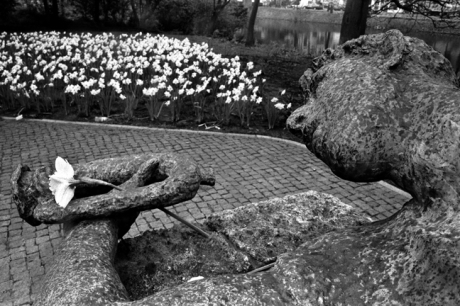 Fusilladeplaats Monument, Amsterdam, Netherlands, April 1999