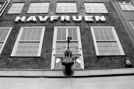 Havfruen, Nyhavn, Copenhagen, Denmark, October 2007