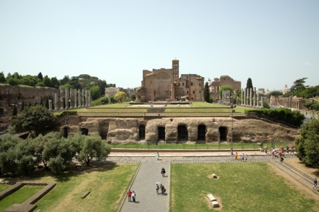 The Temple of Venus & Roma, Rome, Italy, May 2009