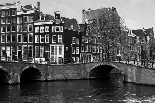 Reguliersgracht, Amsterdam, Netherlands, April 1999