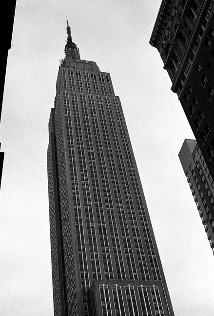 Empire State Building, Manhattan, New York, January 2004