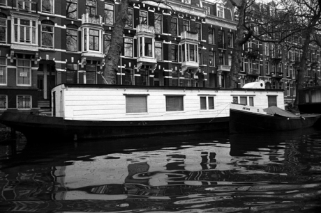 Canal Boat, Amsterdam, Netherlands, April 1999