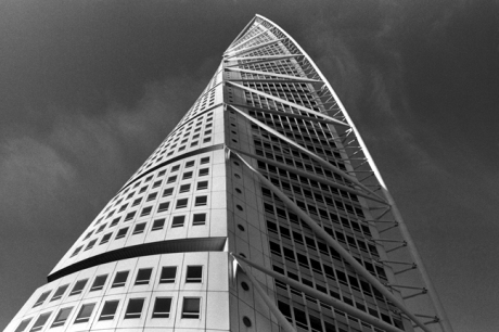 Turning Torso Building by Santiago Calatrava, Malmo, Sweden