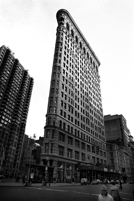 Flatiron, Fifth Avenue, Manhattan, New York, America, April 1995