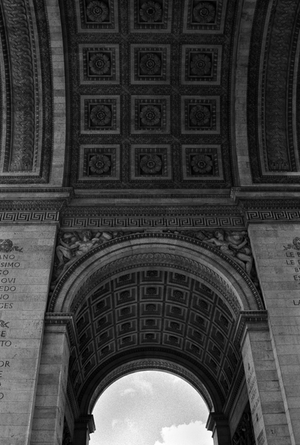 Arc de Triomphe, Paris, France, August 2004