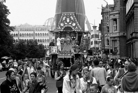 Hare Krishna Parade, Dublin, Ireland, 1992