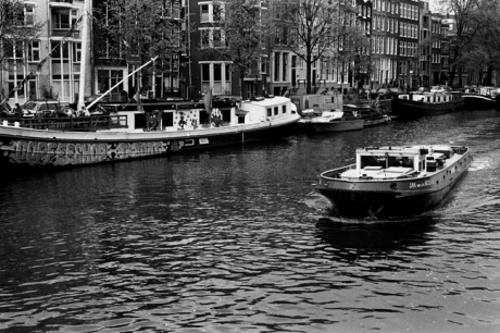 T-Boat Coffee Shop,Oude Schans, Amsterdam, Netherlands, April 1999