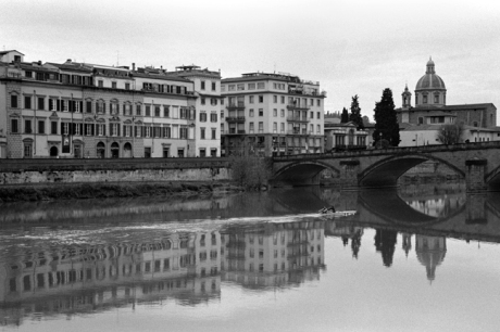 Florence & The Arno, Florence, Italy, February 2007