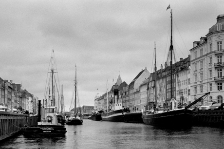 Nyhavn, Copenhagen, Denmark, October 2007
