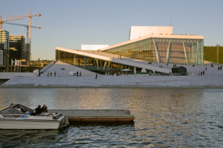 Oslo Opera House, Oslo, Norway, June 2010