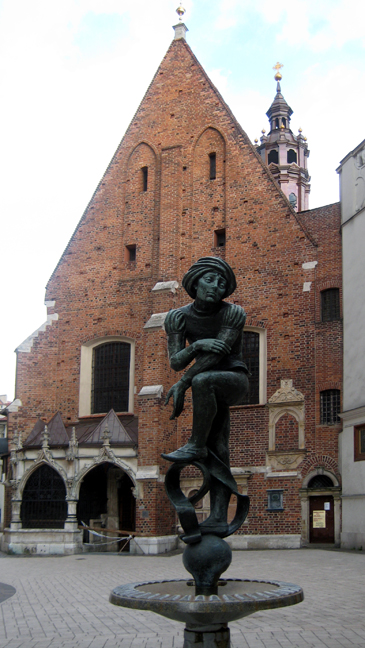 St. Mary's Square, Krakow, Poland, March 2008