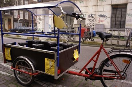 Seven Seater Bike , Amsterdam, Netherlands, April 1999