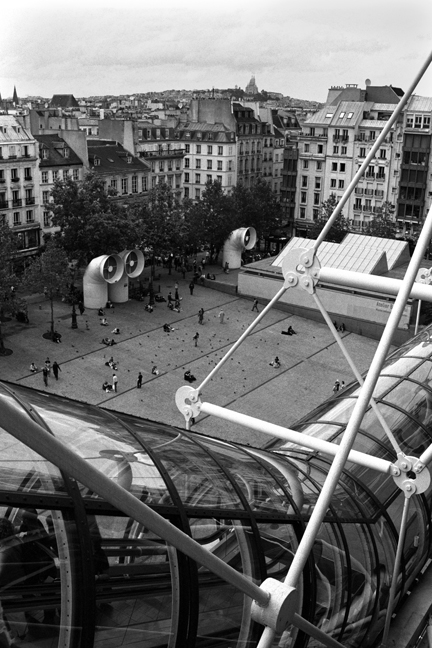 Pompidou Centre, Paris, France, August 2004