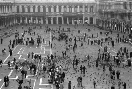 Piazza San Marco, Venice, Italy, November 2005