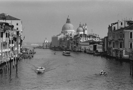 Grand Canal & Santa Maria della Salute, Venice, Italy, November 2005